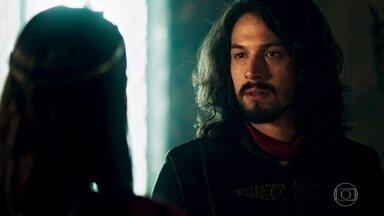 Catarina conta a Afonso que está grávida - Afonso questiona Catarina e fica abalado com a notícia