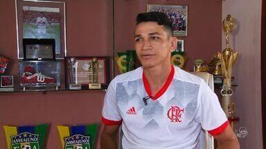 Jogador Ronaldo Angelim dá seu palpite para a Copa do Mundo - Confira mais notícias em g1.globo.com/ce