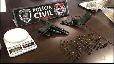 JPB2JP: Apreensões de armas e drogas, assalto, desabamento de teto e acidente - Saiba detalhes das notícias policiais.