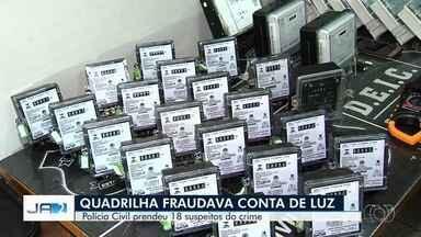 Presos suspeitos de fraudar contas de luz em Goiás - Segundo Polícia Civil, membros da distribuidora de energia estão sendo investigados.
