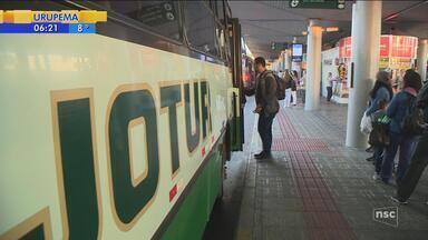Preço da passagem dos ônibus intermunicipais da Grande Florianópolis terão reajustes - Preço da passagem dos ônibus intermunicipais da Grande Florianópolis terão reajustes