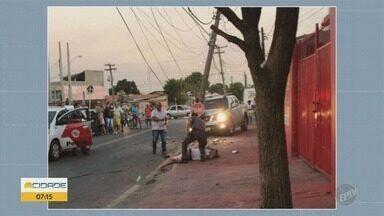 Um criminoso foi baleado durante uma perseguição policial em Campinas - Monitoramento da polícia teve início em Sumaré.