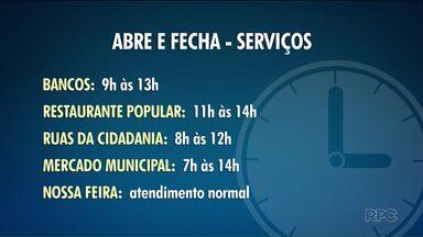 Veja quais serviços vão ter o horário alterado nesta sexta-feira (6) - Muitos serviços terão o horário de atendimento modificado por causa do jogo do Brasil na Copa.