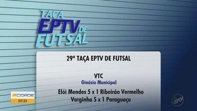 Três cidades recebem jogos da Taça EPTV de Futsal - Três cidades recebem jogos da Taça EPTV de Futsal