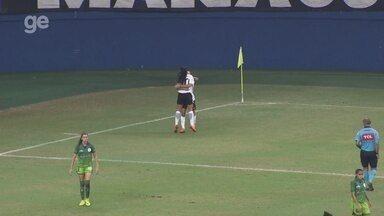 Gol do Corinthians: Millene abre o placar contra o Iranduba, pelo Brasileiro feminino - Duelo da oitava rodada ocorreu nesta quinta, na Arena da Amazônia, em Manaus.