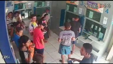 Lotérica de Pindaré-Mirim é alvo de bandidos - A única lotérica da cidade teve todo o dinheiro do cofre roubado.
