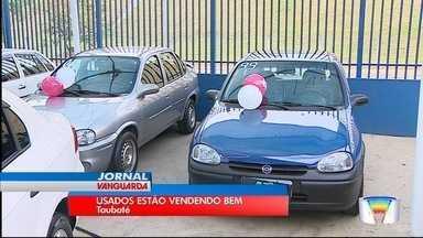 Lojistas apontam aumento na venda de carros mais velhos na região - Vendas subiram mais de 20%.