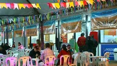 Arraiá do Hospital São Vicente, em Guarapuava, é neste fim de semana - A festa arrecada recursos para melhorias no hospital.