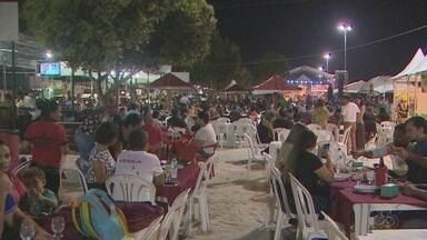 Estação Lunar abre temporada do Macapá Verão com música e exposição na Fazendinha - Apresentações ocorreram na quinta-feira (6). Este ano terá uma edição a mais, realizada no dia 2 de agosto.