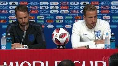 Inglaterra e Suécia se preparam para jogo decisivo na Copa - A Inglaterra é fanática por futebol, tem um título mundial e enfrenta a Suécia, considerada uma das surpresas da Copa. Há muito tempo, os ingleses não chegavam no mundial com uma equipe tão talentosa.