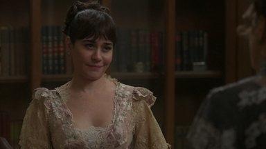 Susana intimida Lady Margareth - A assessora de Julieta diz que a inglesa se arrependerá caso não queira escutar o que ela tem a dizer