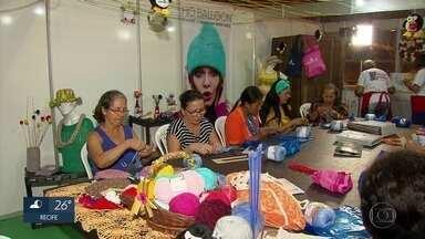 Compras, cultura e cursos gratuitos são atrações da Fenearte - Feira de artesanato acontece no Centro de Convenções, em Olinda.