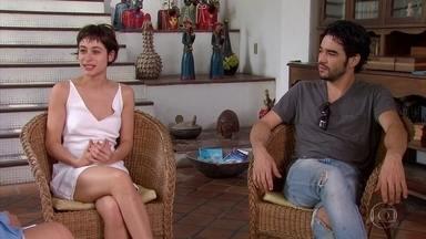'Grande Sertão: Veredas' é encenada com Caio Blat e Luísa Arraes no elenco - Peça será apresentada domingo, no Teatro Guararapes, no Centro de Convenções.