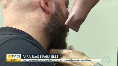 Feira de beleza e estética traz novidades em produtos e equipamentos em Belo Horizonte - A Professional Fair é realizada no Expominas até terça-feira (10).
