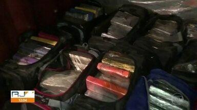 Operação da PF prende 12 integrantes de quadrilha que traficava drogas para Europa - Investigações duraram um ano para mapear o destino da droga e todos os integrantes da quadrilha.