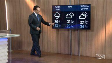 Veja as variações das temperaturas no Maranhão - Confira como deve ficar o tempo nesta segunda-feira (09) em São Luís e no Maranhão.