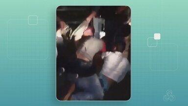 Homens são presos durante tentativa de assalto em Manaus - Trio foi preso após passageiros reagirem.