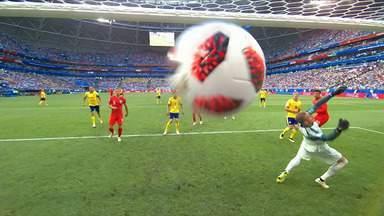 Gols - Inglaterra - 4º lugar - Copa do Mundo da FIFA