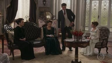 Lady Margareth usa Briana para fazer chantagem emocional com Darcy - A inglesa diz que sua vida acabou no momento da morte da filha