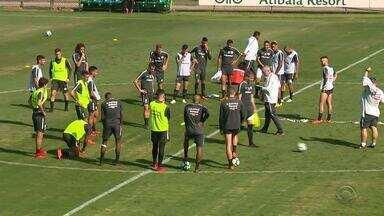 Com a proximidade do fim da Copa, dupla Gre-Nal foca em retorno - Assista ao vídeo.