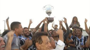 Americano vence o Tigres e é campeão da Taça Santos - Assista a seguir.
