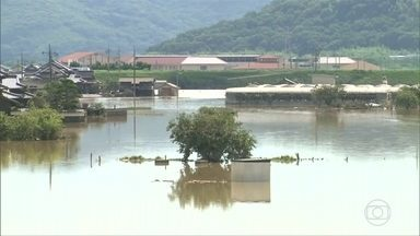124 morrem por causa das chuvas no Japão - Número de mortos pode aumentar porque mais de 60 pessoas estão desaparecidas.