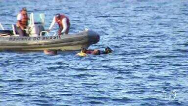 Jovem de 17 anos morre afogado após cair de moto aquática em praia de Santarém, no Pará - O acidente aconteceu no fim da tarde desta segunda-feira (9), na praia do Maracanã.