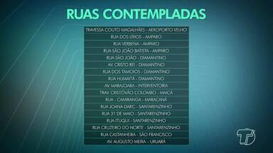 Ruas danificadas durante chuvas em Santarém vão receber serviços de reparos - Recursos foram repassados à prefeitura pelo Ministério da Integração Nacional, por meio do reconhecimento da situação de emergência desde março de 2018.