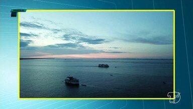 Vídeo mostra condutor infringindo regras da regras marítima e quase provocando um acidente - Assim como transportes terrestres, o transporte náutico tem regras que devem ser seguidas para assegurar a vida de condutores e banhistas.