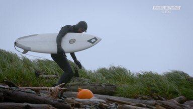 Surfe Após A Tempestade