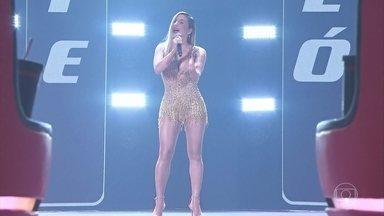"Claudia Leitte canta ""It Hurt So Bad"" - Cantora surpreende técnicos e público"
