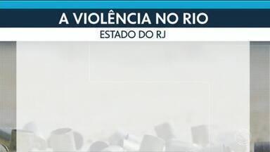 Números da violência sobem no Estado do Rio - Mortes em confrontos com a polícia aumentaram 60%.