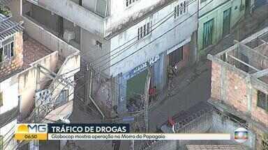 Operação contra o tráfico de drogas prende suspeitos no Morro do Papagaio, em BH - Aglomerado fica na Região Centro-Sul da capital mineira.