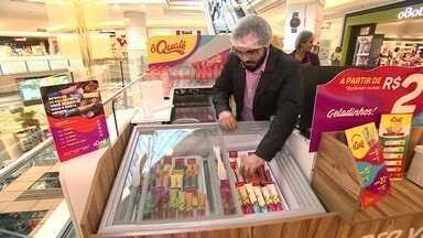 Franquia de churros usa negócios de marca dupla para enfrentar a sazonalidade - Empresa lançou um novo produto, além dos churros: o geladinho gourmet.