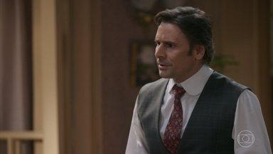 Jorge descobre sobre a prisão de Elisabeta - Barão agradece o apoio de Jorge e diz que sente falta de sua neta