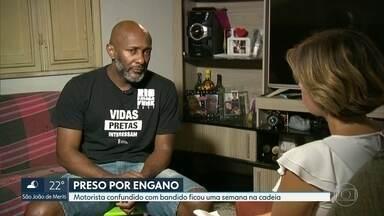 Motorista fica preso uma semana por engano - Antônio Carlos conversou com a repórter Flávia Jannuzzi e contou dos dias de angústia dentro da cadeia.