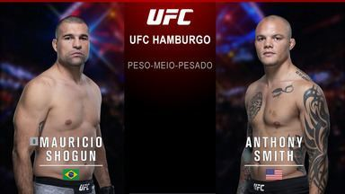 Maurício Shogun x Anthony Smith