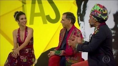 Tribalistas apresentam no Fantástico prévia da turnê do trio pelo Brasil - Veja apresentações completas de 'Já Sei Namorar', 'Velha Infância', 'Aliança' e 'Diáspora', com Carlinhos Brown, Marisa Monte e Arnaldo Antunes.