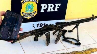 Arma e munições são encontradas na BR-153 em Guaraí - Arma e munições são encontradas na BR-153 em Guaraí