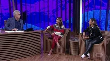 Aline Barros fala sobre seu casamento com Gilmar Jorge dos Santos - Ela e Bruna Karla falam sobre tolerância da igreja aos gays e sobre feminismo