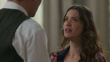 Elisabeta descobre que Darcy fez um acordo com Susana - A jovem Benedito se choca com a notícia do casamento do amado com a rival