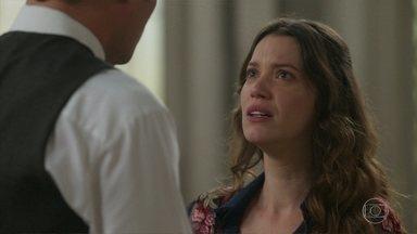 Felisberto sugere que Lídia procure um médico - Ofélia diz a Mariana que faz gosto do relacionamento dela com Brandão