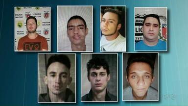 Sete presos estão foragidos da cadeia de Realeza - No domingo (22), 10 presos fugiram.