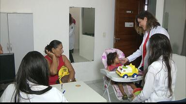 Clínica escola da UFPB, em João Pessoa, atende quem tem problema auditivo - Clínica de Fonoaudiologia faz triagem para atendimento.