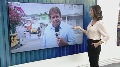 Homem é preso após 26 registros de agressão a mãe e irmã em Manaus - A irmã havia saído de casa após as agressões.