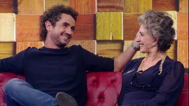 Felipe Andreoli conta que travou quando entrevistou Guga - Confira!