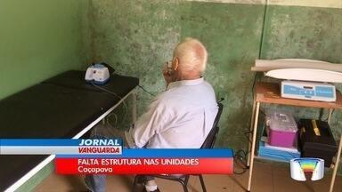 Postos de Saúde de Caçapava apresentam falta de infraestrutura - Secretaria de Saúde prometeu agir no caso.
