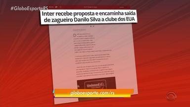 Inter recebe proposta e encaminha zagueiro Danilo Silva para clube dos Estados Unidos - Assista ao vídeo.