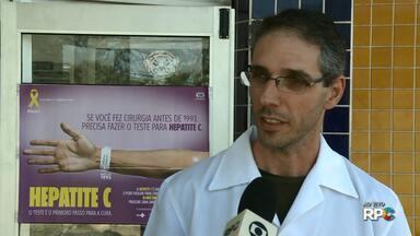 Secretaria de Saúde realiza ações de prevenção contra as hepatites virais - No sábado (28), das 8h às 14h, o CTA estará aberto para atender a população em geral que quiser fazer o teste rápido. O Centro fica na Alameda Manoel Ribas, nº 01 e o teste é gratuito.