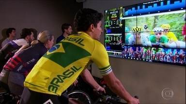 Atletas utilizam realidade virtual para aprimorar técnica - Atletas utilizam realidade virtual para aprimorar técnica